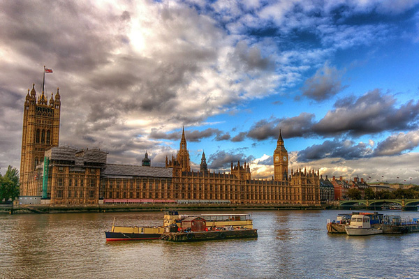 Themse London HDR