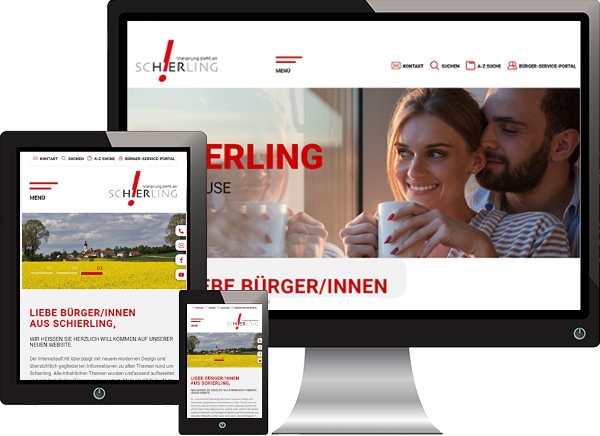 Markt Schierling Website