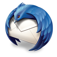 thunderbird logo only